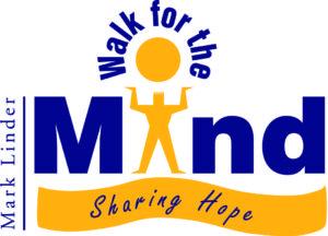 Mark Linder walk for the mind logo